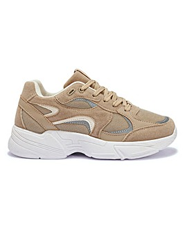 Achille Retro Chunky Trainers Wide Fit
