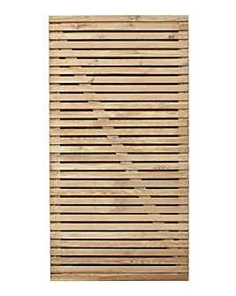 Double Slatted Gate 6ft (1.83m high)