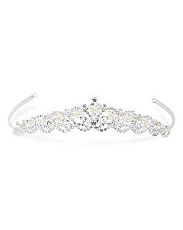 Jon Richard Diamante Navette Tiara