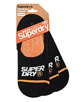 Superdry Black No Show Trainer Socks