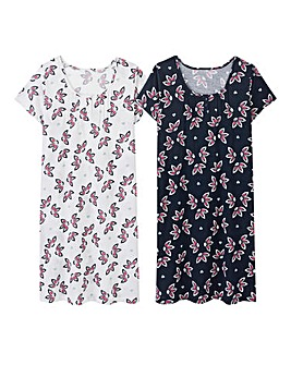 Pretty Secrets 2 Pack Nighties L38