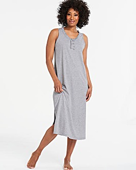 Pretty Secrets Cotton Blend Maxi Nightie