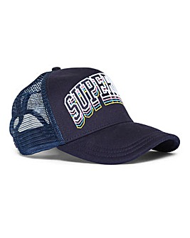 Superdry Navy Varsity Triple Cap