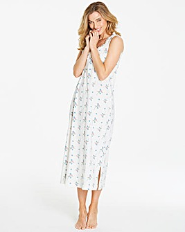 Pretty Secrets Blue Floral Maxi Nightie