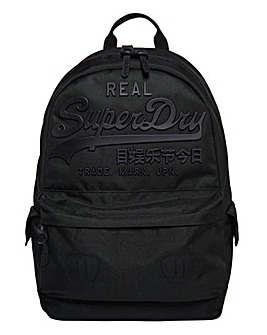 Superdry Black Premium Goods Backpack