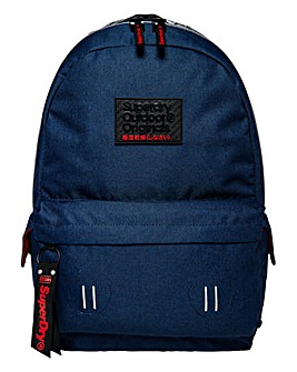 Superdry Navy Hollow Montana Backpack