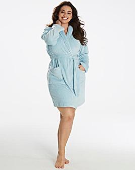 Pretty Secrets Fluffy Fleece Gown L38