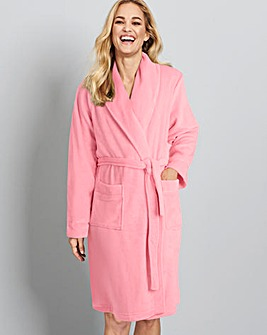 Pretty Secrets Luxury Fleece Gown L42