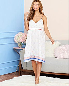 Pretty Secrets Printed Cotton Nightie