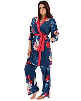 Joanna Hope Lily Print Kimono