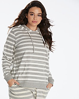 Pretty Secrets Stripe Lounge Hoodie