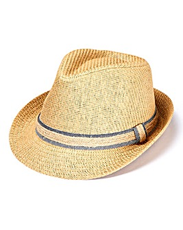 Brown Trilby Hat