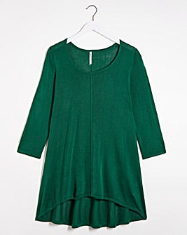 Dip Back Swing Tunic