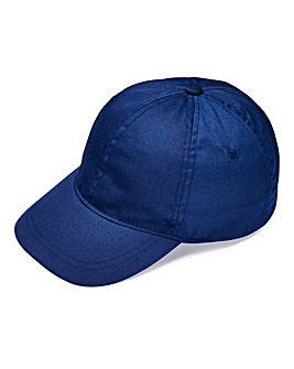 Navy Plain Cap