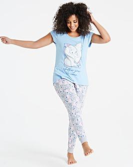 Dumbo Print Jogger Pyjama Set
