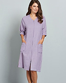 Pretty Secrets Towelling Zip Gown L42