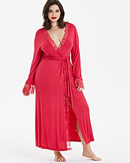 Pretty Secrets Ella Lace Long Robe