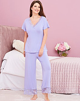 Pretty Secrets Ella Lace Pyjama Set