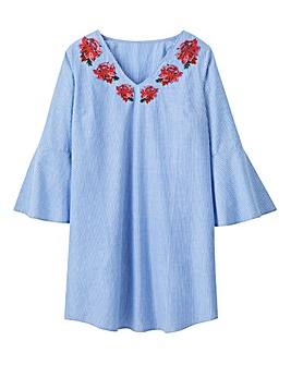 Pretty Secrets Embroidered Nightshirt