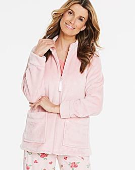 Pretty Secrets Zip Front Bed Jacket