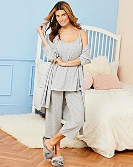 Pretty Lounge The Crop Grey Pyjamas