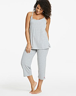 Pretty Lounge The Crop Grey Pyjamas