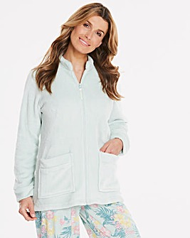 Pretty Secrets Zip Front Bed Jacket