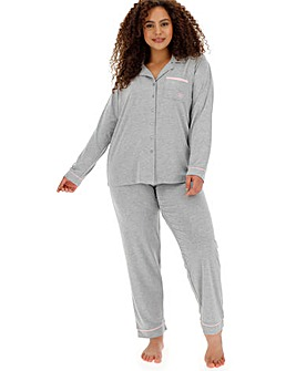 Pretty Lounge The Button Pyjama Grey