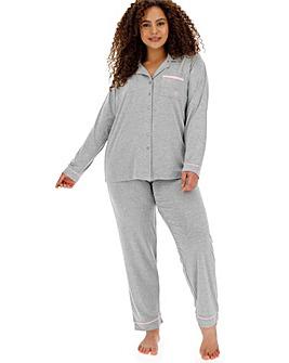 Pretty Lounge The Button Pyjama Grey
