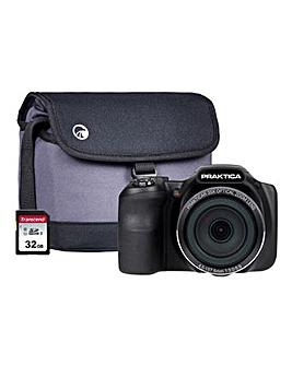 PRAKTICA Luxmedia Z35 Bridge Camera Kit