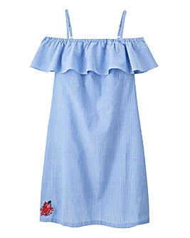 Pretty Secrets Embroidered Frill Chemise