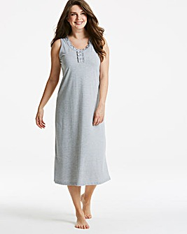 Pretty Secrets Maxi Nightie 48in