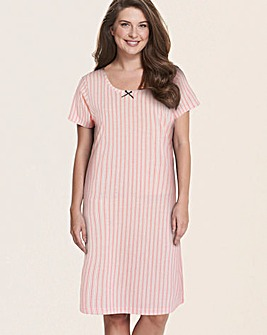 Pretty Secrets Short Sleeve Nightie 36in
