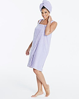 Pretty Secrets Lavender Wrap & Turban