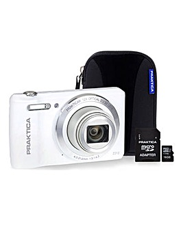 PRAKTICA Luxmedia Z212 White Camera Kit