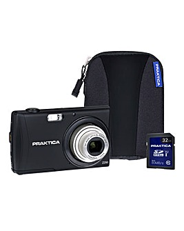PRAKTICA Luxmedia Z250 Black Camera Kit