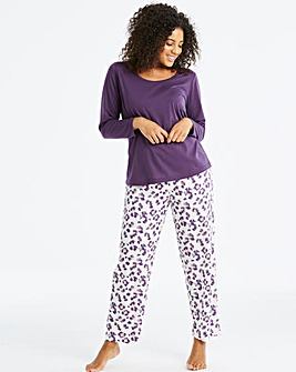 Pretty Secrets Long Sleeve Animal PJ Set