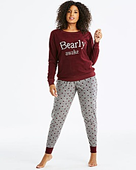 Pretty Secrets Sequined Embroidered PJ