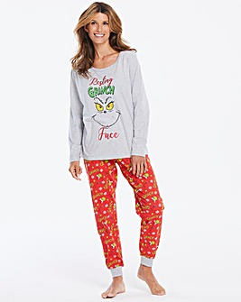 The Grinch Christmas Jogger Set