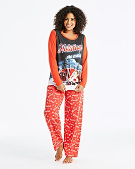 Coca Cola Christmas Pyjama Set