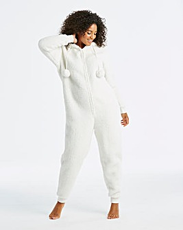 Pretty Secrets Fleece Bear Onesie