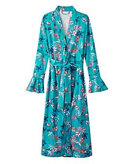 Joanna Hope Botanical Frill Robe 50in