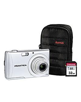 PRAKTICA Luxmedia Z250 Silver Camera Kit