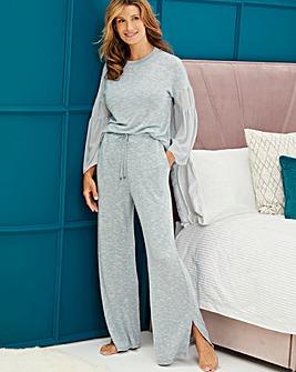 Pretty Secrets Wide Leg Loungewear Pant