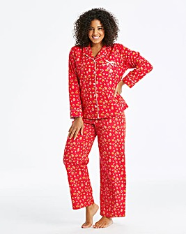 Joe Browns Gingerbread Print PJ Set