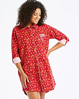 Joe Browns Gingerbread Print Nightshirt