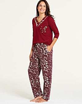 Joe Browns 3 4 Sleeve Embroidered Top 9e7a37325