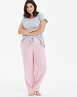 Pretty Lounge Stripe PJ Set