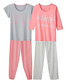Pretty Secrets Mixed Pyjama Set