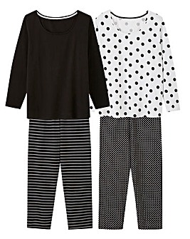 Pretty Secrets 2pk Long Sleeve PJ Sets
